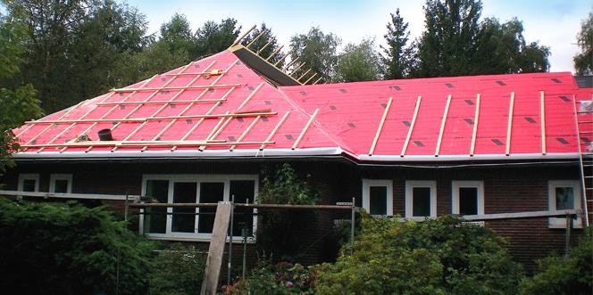 Steildach Einfamilienhaus