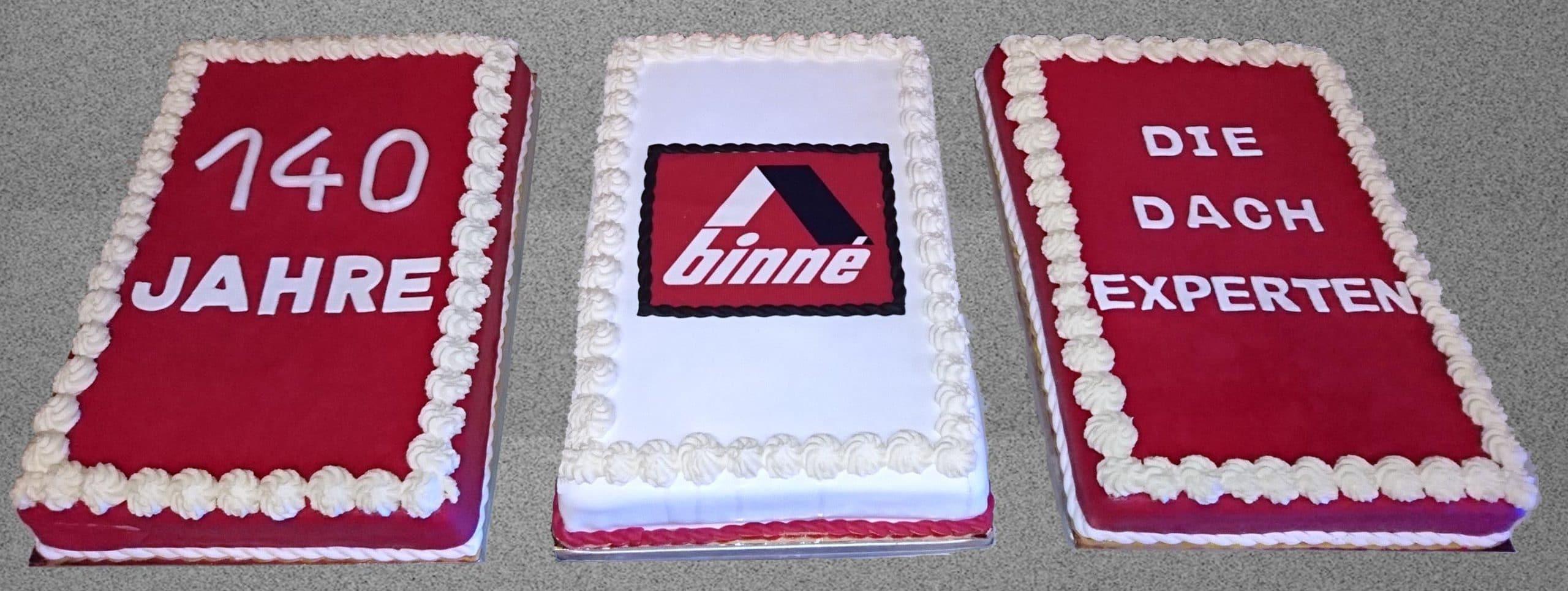 Torte Sommerfeier Binné 140 Jahre