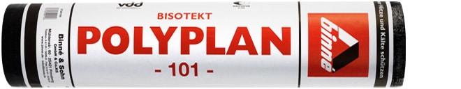Elastomer-Bitumenbahn Polyplan Binné