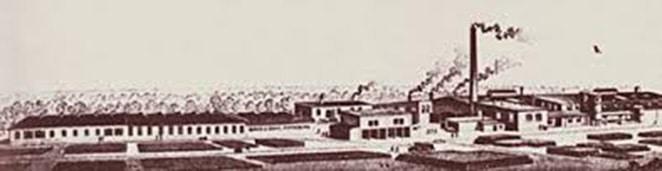 historische Dachpappenfabrik von Binné und Sohn