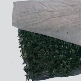 Schutzelement, Dränageelemten, Filterelement für Gründach, BISOFLOR TEXA DRAEN TYP 23 ET