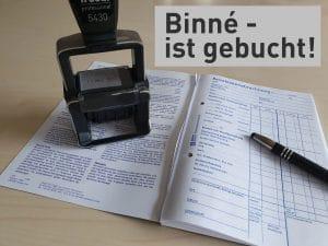 Stellenausschreibung Buchhaltung bei Binné
